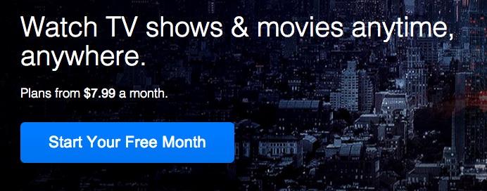 Netflix - Nýskráning
