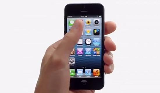 iPhone 5 auglýsing - Thumb