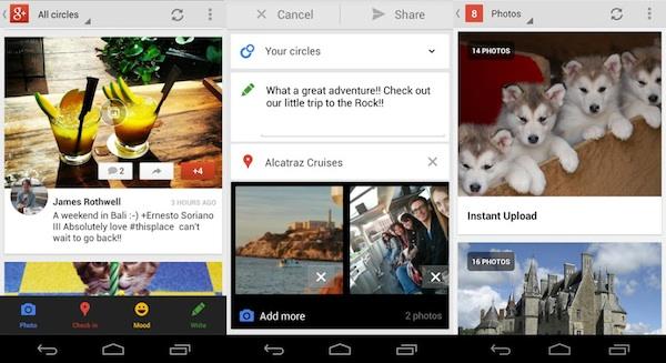 Google+ á Android