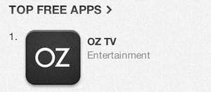 OZ efst í App Store