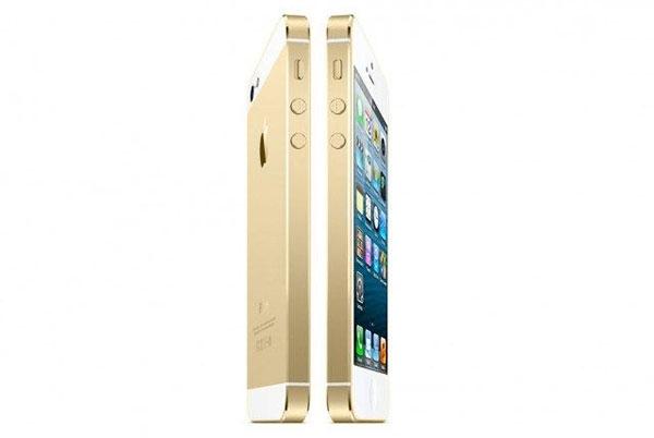 Gylltur iPhone