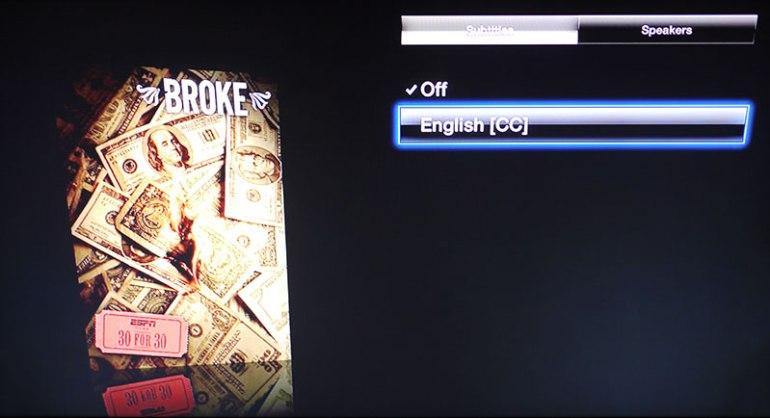 Netflix - Apple TV - Texti