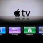Apple TV valmynd