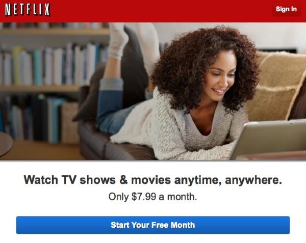 Netflix - Signup