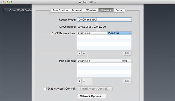 Airport Extreme - Network