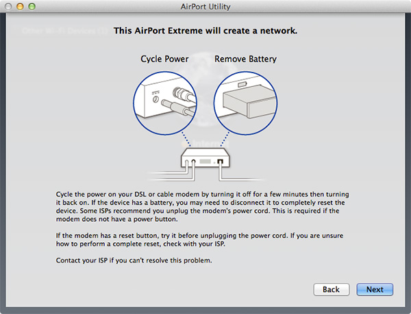 Airport Extreme - Skref 3