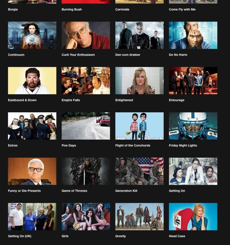 HBO Nordic - efnisúrval