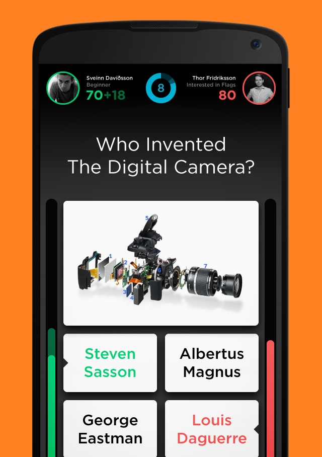 QuizUp - Android leikur