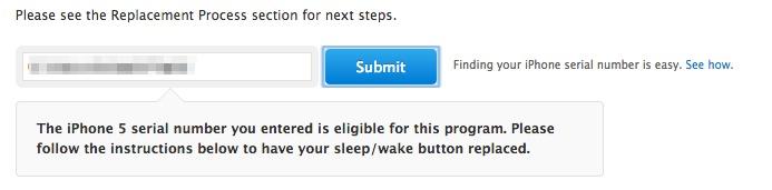 iPhone Sleep/Wake Replacement Program