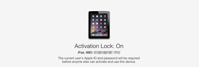 Activation Lock - On