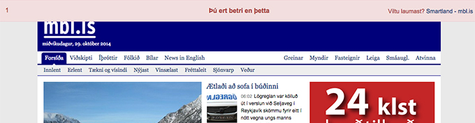 Smartland - Þú ert betri en þetta