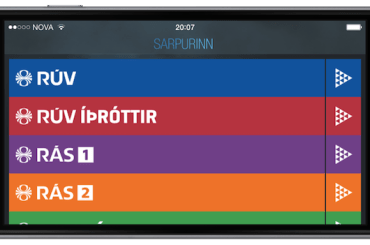 iOS - Sarpurinn