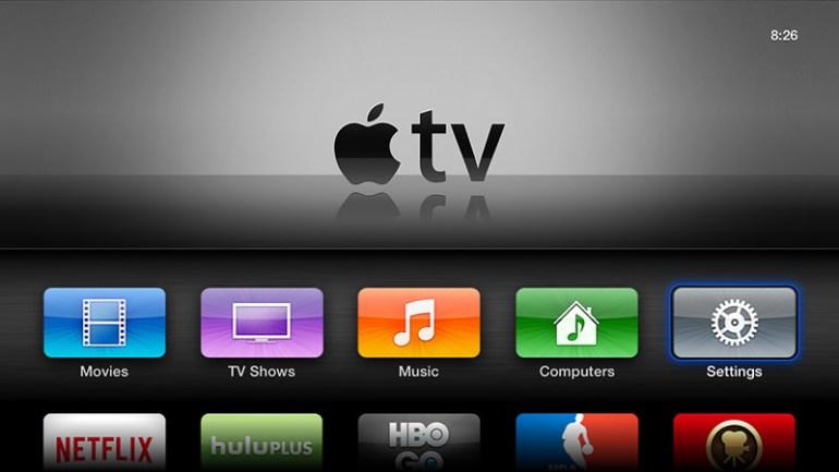 Apple TV - Heimaskjár