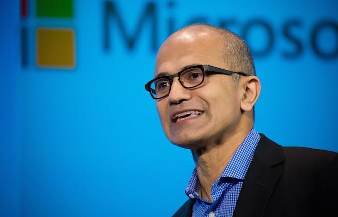 Satya Nadella, forstjóri Microsoft