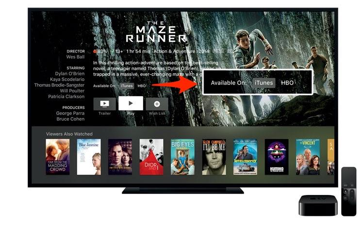 Apple TV - leit