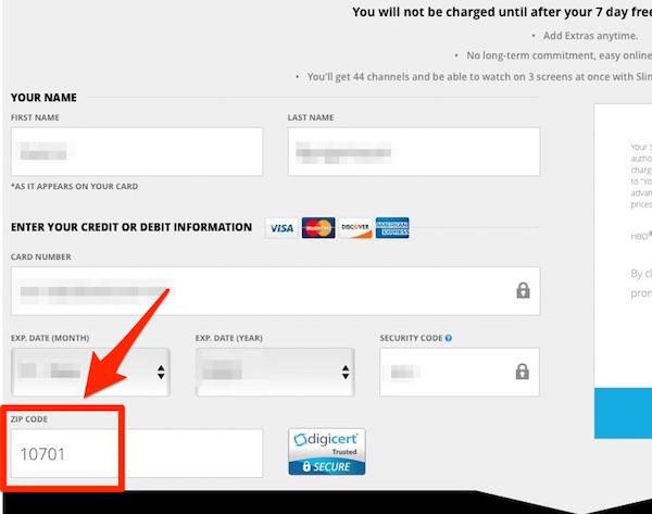 Sling - Kreditkort