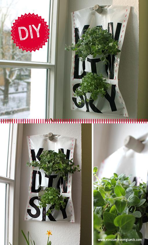 pflanzentasche DIY
