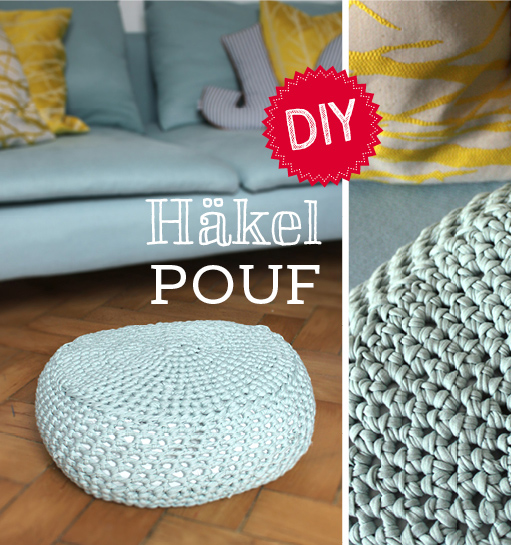 DIY Häkeln Pouf