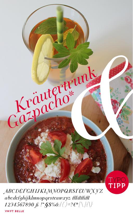 Gazpacho Sommergetränk