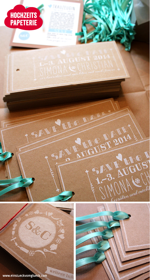 Save-the-Date Hochzeit, Save-the