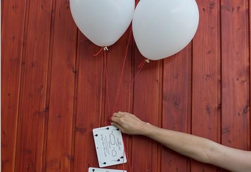 Luftballonkarten Hochzeit, Freebie, Hochzeit mit Liebe selbstgemacht, Hochzeitsbuch