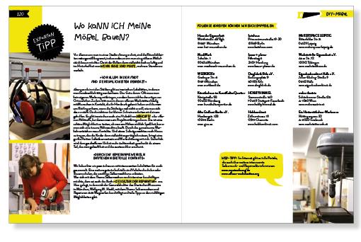 Layout Kreatives Kinderzimmer, Offene Werkstätten, Werkstatt DIY Verzeichnis