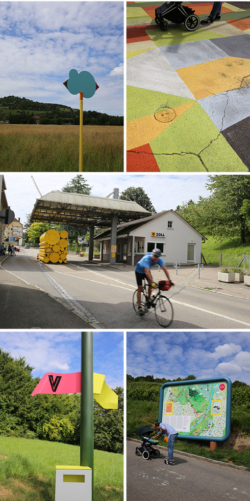 rehberger weg, kunstprojekt, vitra, foundation beyeler