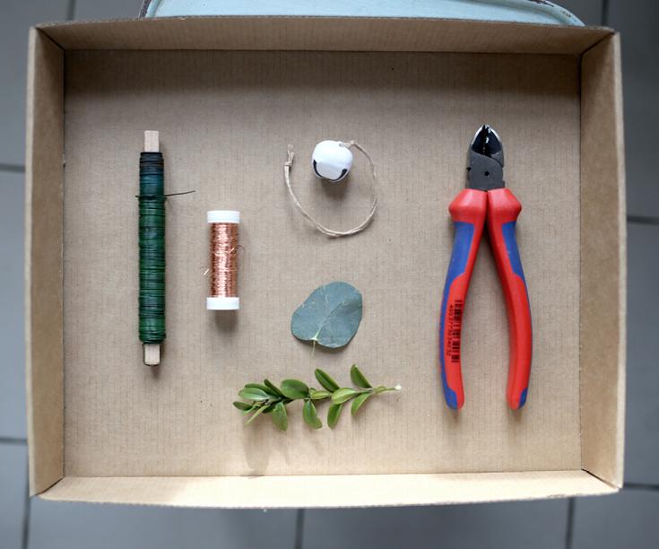 Eukalyptus, Kranz, DIY