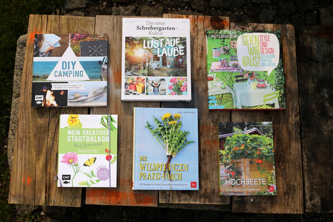 Buchtipp, Draußen, DIY, Naturbücher, Schrebergarten