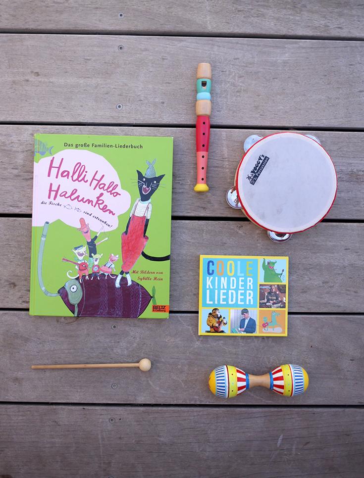 Musik für Kinder, Musikintrumente, Kinder-CD, Kindersongs