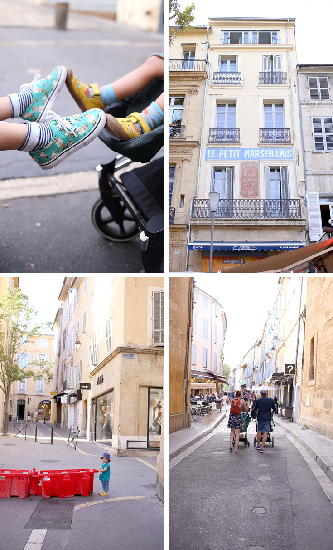 Aix-en-Provence, Frankreich, Provence, Urlaub mit Kind