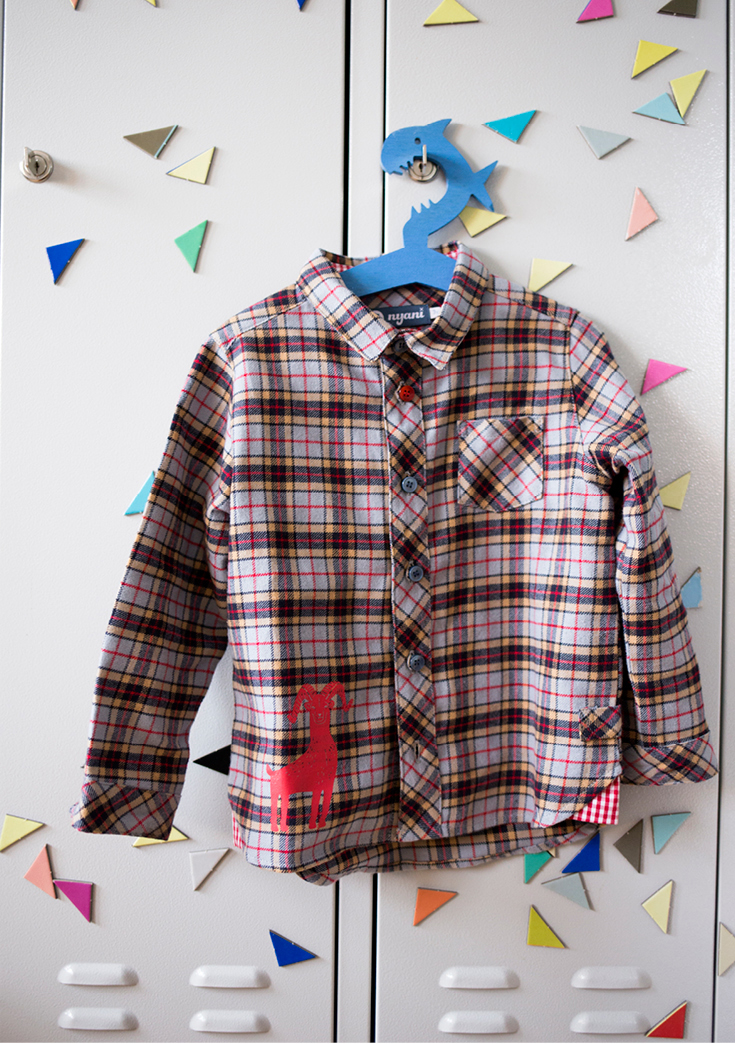 Karohemd, 2-Jährige Mode, Kindermode