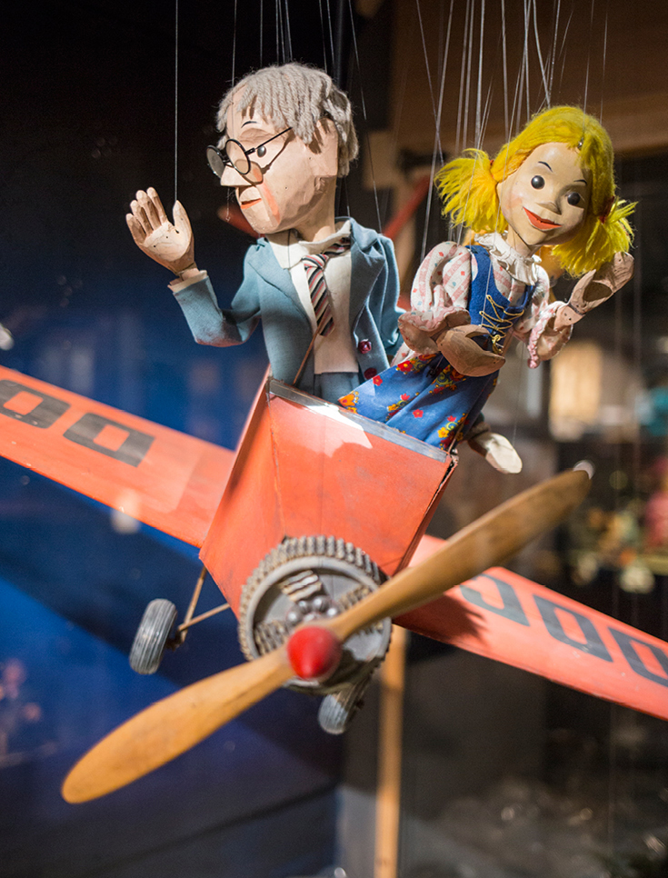 Augsburger Puppenkiste, Museum Augsburg, Ausflugstipp mit Kindern in München und Umgebung, Marionettentheater