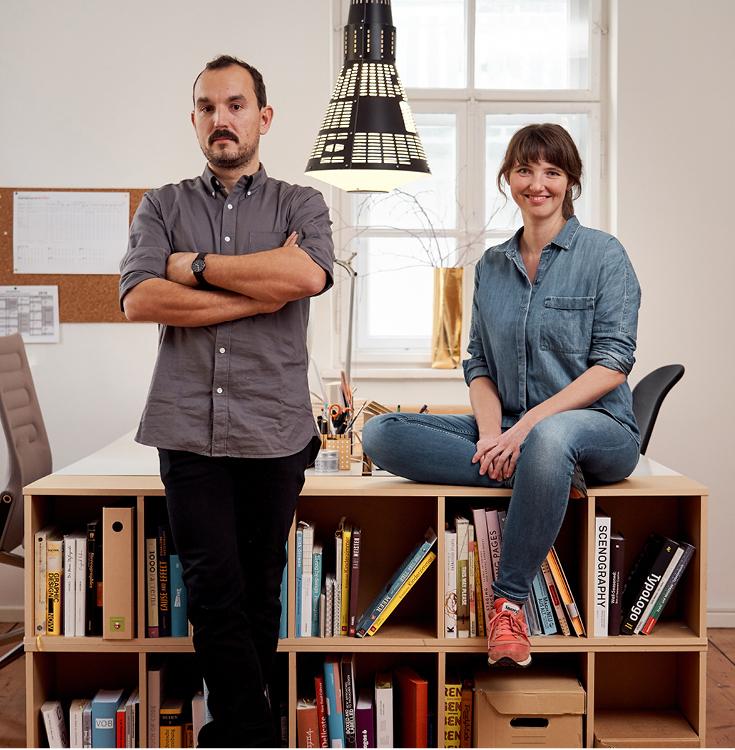Julia Romeiß und Gregor Faubel