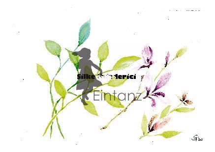 Wasserzeichen_Aquarell Blätter und rosa Blüten 03-20