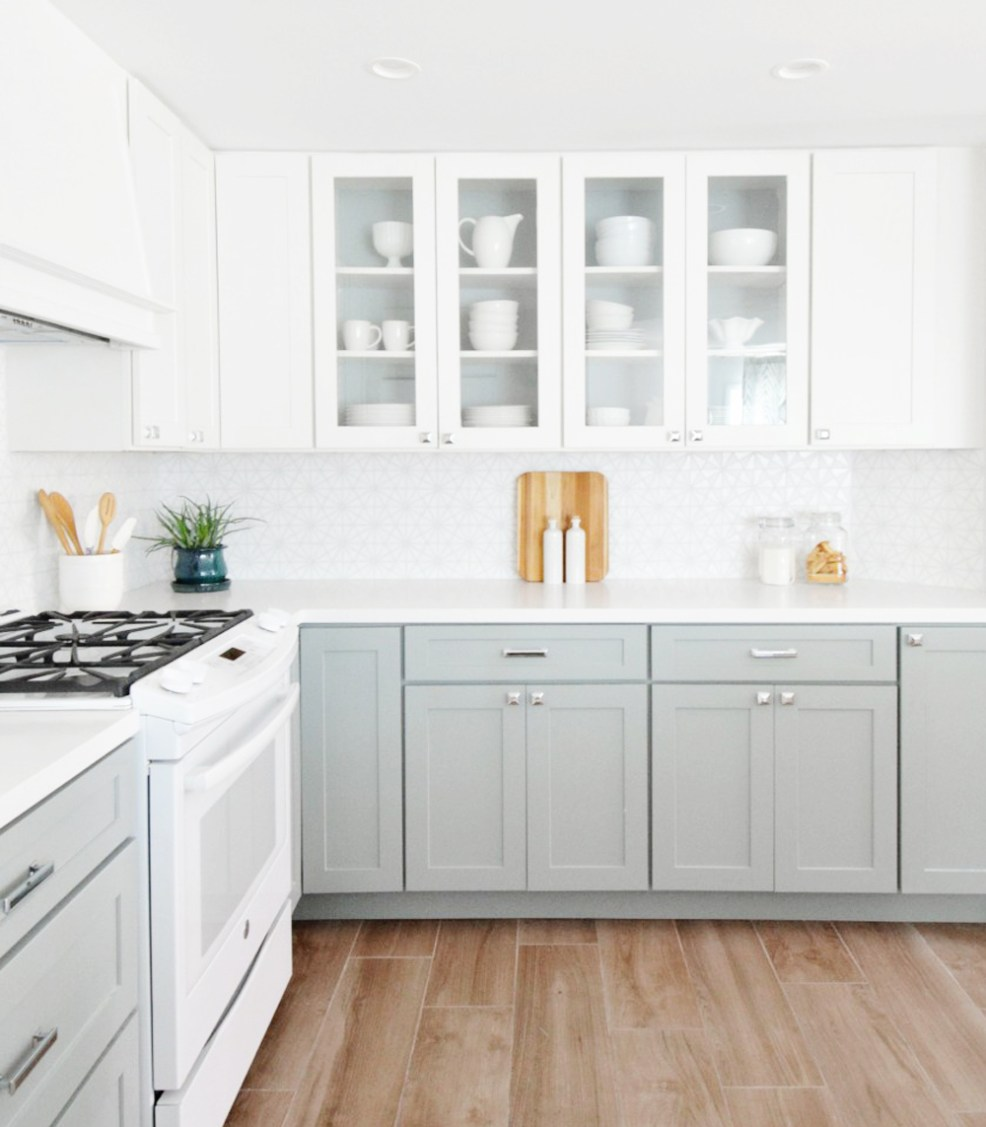 twotoned5 - THE TWO TONE KITCHEN by popular home design blogger E. INTERIORS