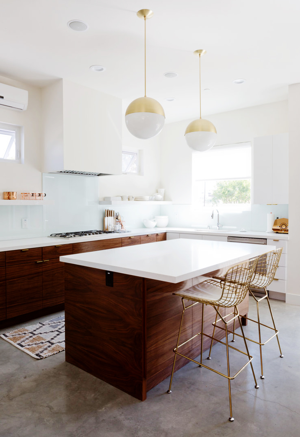 Two Tone Kitchen | Get The Look | E. INTERIORS