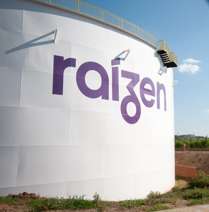 Raízen logo, from the Cosan group