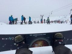 Snowboardfahren :-)