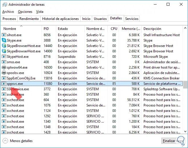 Lösen Sie hohe CPU-Auslastung Softwareschutz Sppsvc.exe Windows 10 | einWie.com
