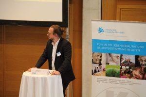 Christian Heerdt (KDA) beim Podiumsaustausch