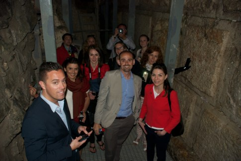 A guided tour of the City of David, the place where King David established his kingdom.