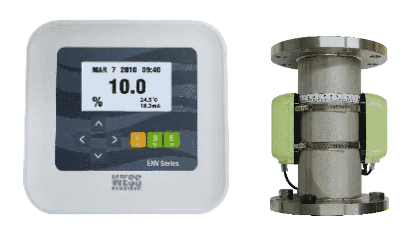 Ultrasonic Clamp On Density Meter