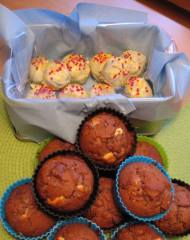 Knäckmuffins och muffinsklubbor utan klubbor