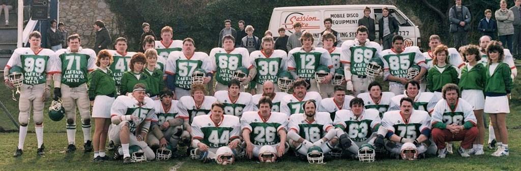 Dublin Celts v Wirral Wolves 1986