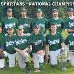 Dublin Spartans Baseball Ireland A League Champions 2008