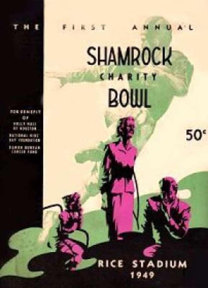 Shamrock-Bowl-AAFC-1949-poster