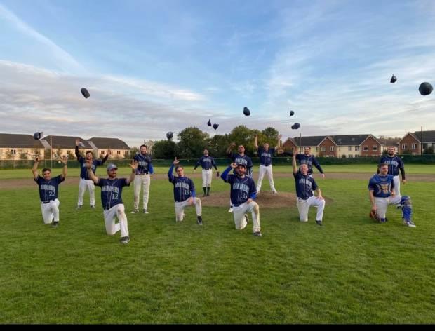 Mariners Baseball Ireland A League Champions 2020