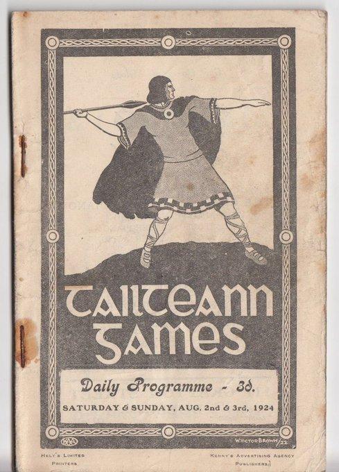 Tailteann Games Programme 2 & 3 August 1932