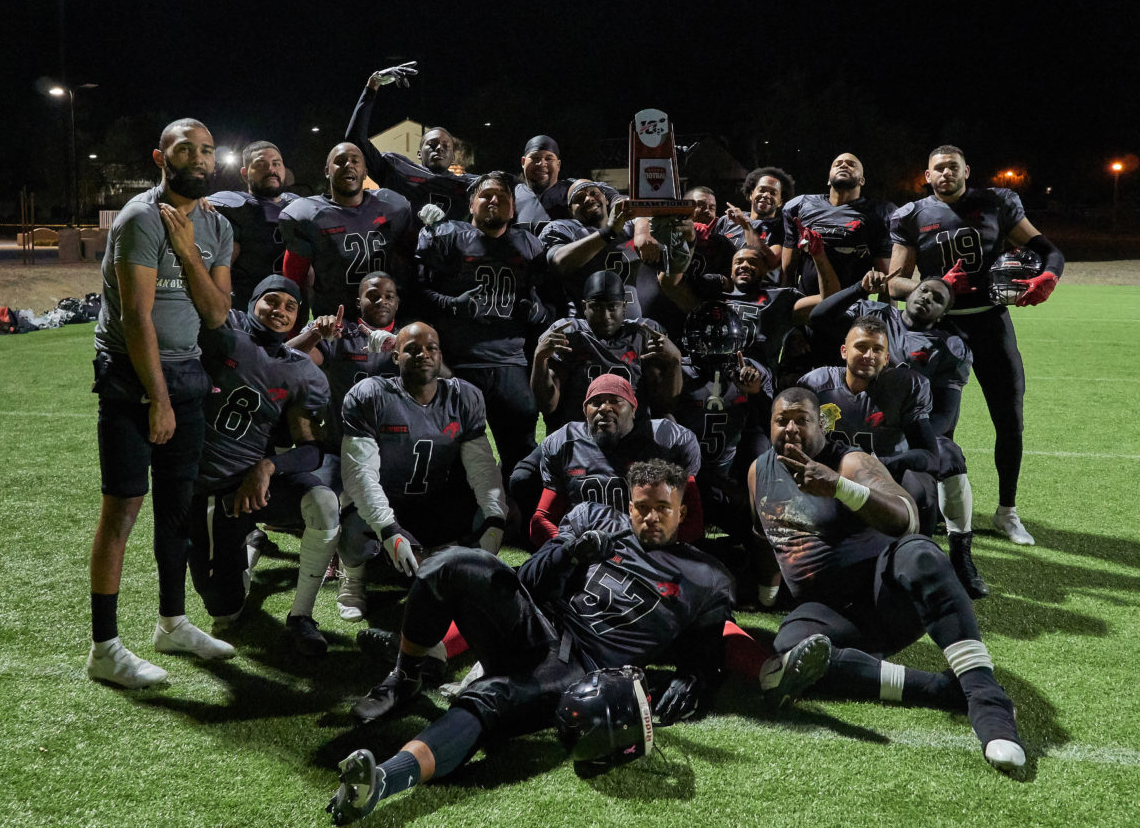 Duo Sports Thundercats Super 8 Football League West Coast Fall Series Champions 2020 [Reference: 5]